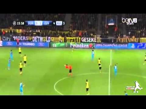 Borussia Dortmund vs Zenit 1-2 All Goals and Highlights 19.03.2014