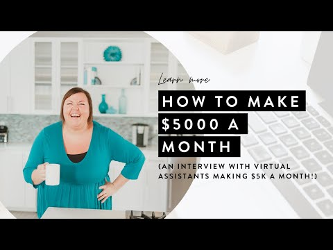 Make 5k+ Per Month As a Virtual Assistant (HOUR LONG INTERVIEW!)