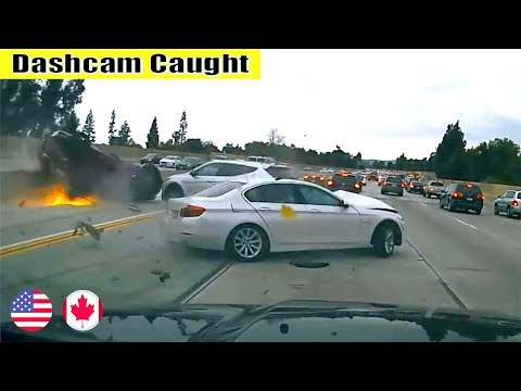 Ultimate North American Cars Driving Fails Compilation - 251 [Dash Cam Caught Video]