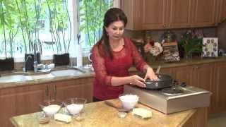 Cooking With Samira # 141 Kade كعك محشي، Pistachio Biscotti بسكت الفستق، Walnut Cookie Bars