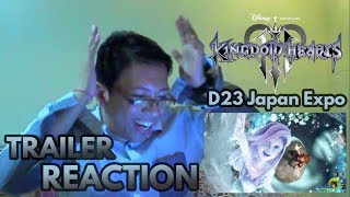 Kingdom Hearts 3 D23 2018 Monsters, Inc. Trailer REACTION