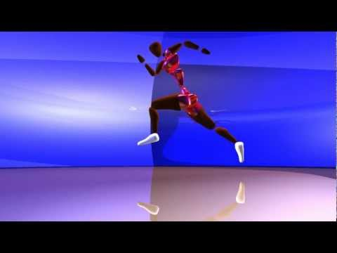 Animated Long Jump