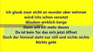 Lukas Rieger - Wunder (LYRICS)
