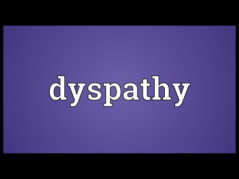 Header of dyspathy