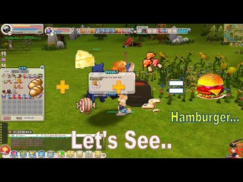 Making Hamburger With Skill Gourmet Cook Craft –  Seal Blade Of Destiny