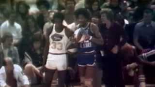 "Julius ""Dr. J"" Erving Looks Back at the 1976 ABA Dunk Contest"