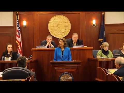 Senator Murkowski Address to the Alaska State Legislature 2013: Part 2