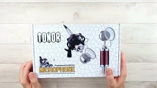 Günstiges YouTube Mikrofon Tonor für unter 40 Euro Test / Deutsch / Unboxing