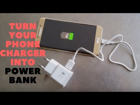 DIY: How To Make A Power Bank Using Old Mobile Phone Charger Homemade