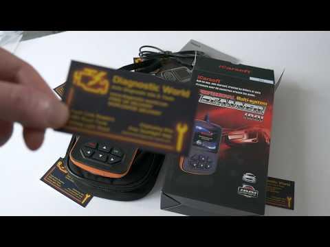 iCarsoft i901 Diagnostic Tool Box Opening Kia Hyundai Diagnostic World