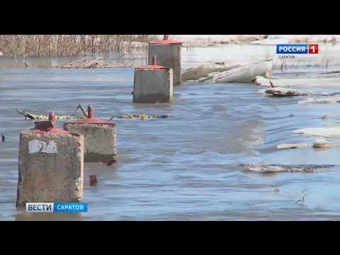 Самая сложная паводковая ситуация сейчас в Аткарске