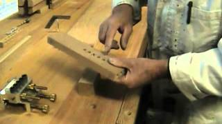 How To Build The Dowelmax Hall Table Part 3 - Joining The Lower Shelf To The Transverse Rails