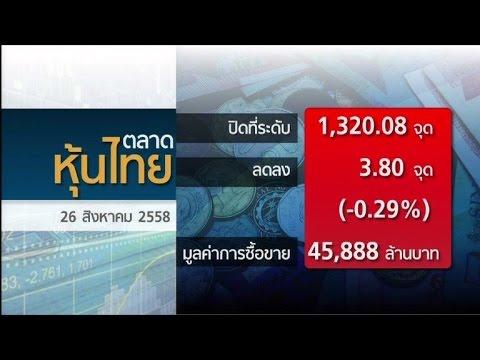 หุ้นไทยปิดลบ3.80จุด ยังกังวลศก.จีน