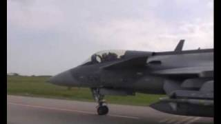 NATO Gripens intercepting Russian Air Force @ Baltic Air policing