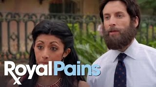 "Royal Pains - Season 5, Eps 3- ""Lawson Translation,"" Savannah Sand Gnats"