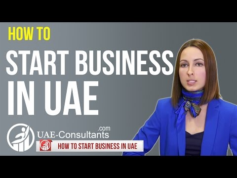 How to start Business in UAE