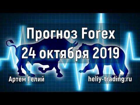 Прогноз форекс на 24.10.2019