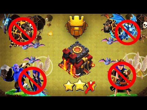Town Hall 10 (Tested In 30 Wars) BEST WAR BASE 2019 AnTi 3 Star [AnTi All Combo] | Clash Of Clans