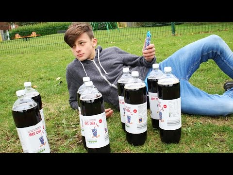 Thumbnail: ULTIMATE COKE AND MENTOS CHALLENGE