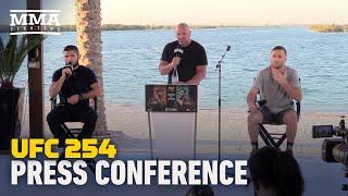 UFC 254: Khabib vs. Gaethje Press Conference - MMA Fighting