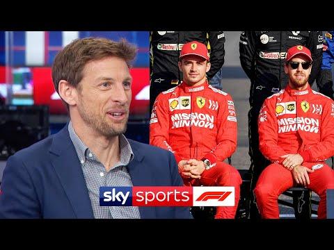 Jenson Button predicts a change in Charles Leclerc vs Sebastian Vettel