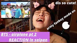 (REACTION) 방탄소년단 BTS - Airplane pt 2 in Saipan 2018 (summer …