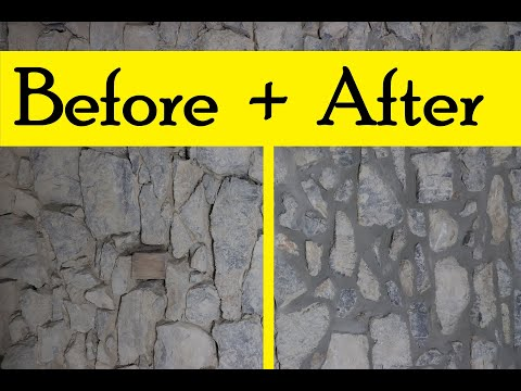 how-to-re-point-a-stone-wall
