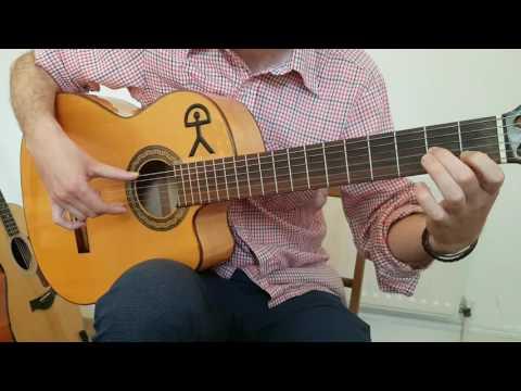 Arpeggio and Picado Flamenco Guitar Lesson