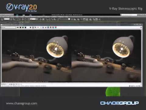 V-Ray 2.0 for 3ds Max - Stereoscopic