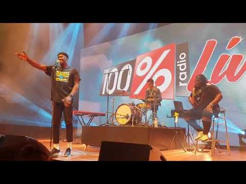Jacob Banks - Concert 100% Radio Toulouse (Bikini)