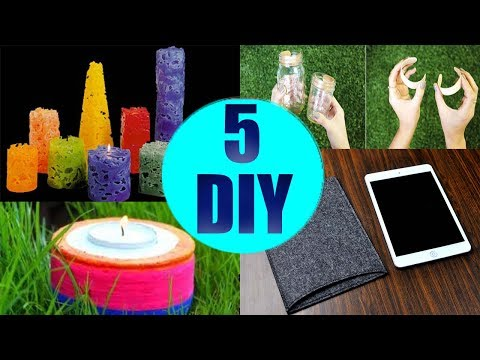 Thumbnail: 5 Crafts To Do When You're BORED! 5 Quick and Easy DIY Ideas! Amazing DIYs & Crafts Hacks!