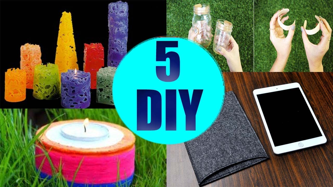 5 Crafts To Do When Youre BORED Quick And Easy DIY Ideas Amazing DIYs Hacks