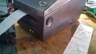 видео Принтер Argox OS-2130d