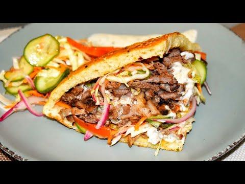 الشاورما-التركية-بالمنزل-طريقة-شكها-بسيخ-المشاوي-العادي-مع-خبزتها-الخاصة-turkish-shawarma