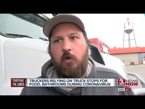 Truckers Relying On Truck Stops For Food, Bathrooms During Coronavirus