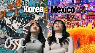 Korean Girls React To Afterlife In Mexico VS Korea