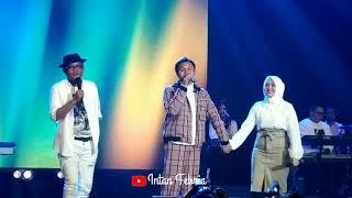 Ayah Sule bangga ! Rizky Febian Nyanyi bareng Ayah Sule dan Adik Putri Delina di Intimate konser nya