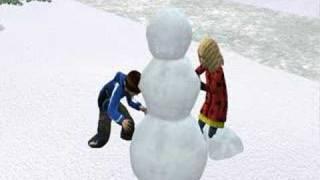 Réveillon de Noël chez les Sims