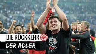 Die rÜckkehr der adler | dfb-pokal eintracht vs. schalke 04 | jubel bei team und fans