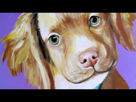 Painted Pet Portraits by Amy's Creative Corner