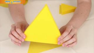 Подвижная развивающая игра VAY TOY «Форма, цвет, размер»