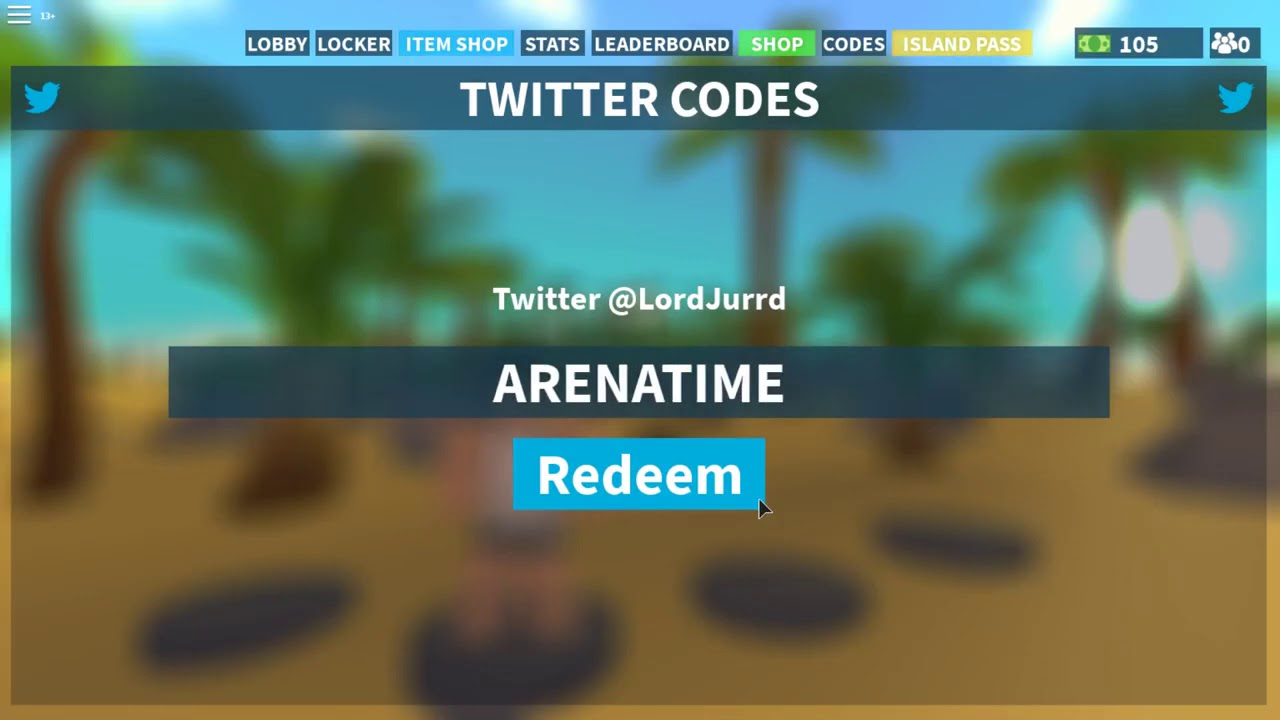 Code Newest Island Royale Code Arena Update September 2019 Roblox