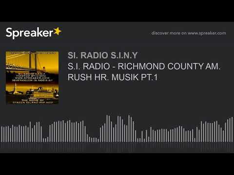 S.I. RADIO - RICHMOND COUNTY AM. RUSH HR. MUSIK PT.1 (part 2 of 6)