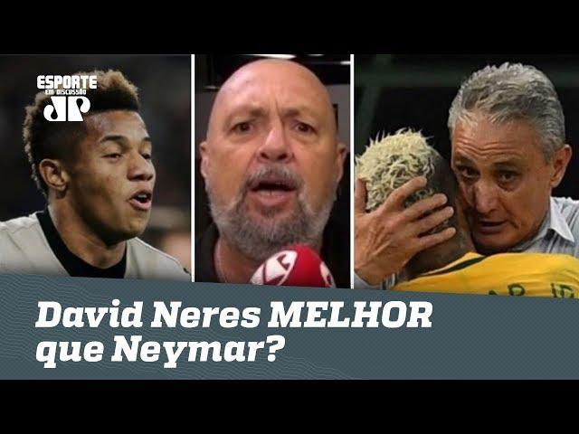 """Narrador DESABAFA e COBRA Tite: """"David Neres será MUITO MELHOR que Neymar!"""""""