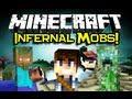 Minecraft INFERNAL MOBS MOD Spotlight! - Diablo Style Enchantments! (Minecraft Mod Showcase)