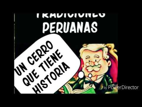 Ricardo Palma - Un cerro que tiene historia - Audiolibro (Cerro San Cristobal)
