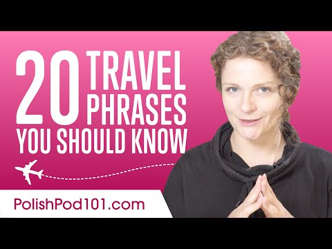 20 Travel Phrases You Should Know in Polish
