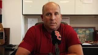 USC Football - Clay Helton: Texas Q&A
