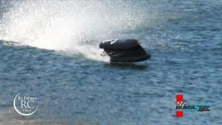 RC Gasoline Boats, Racing and back flip