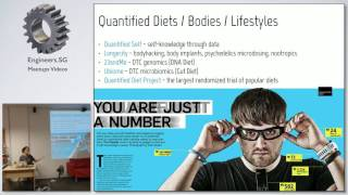 The Story of Quantified Lunch: from Hacker's Diet to Soylent - HackerspaceSG